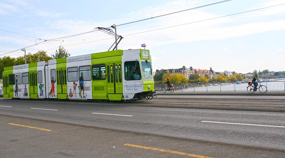 Gesundheits-Tram Zürich