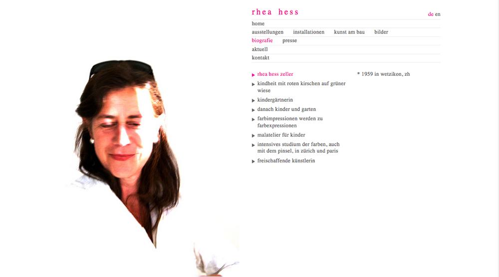 Rhea Hess Künstlerin