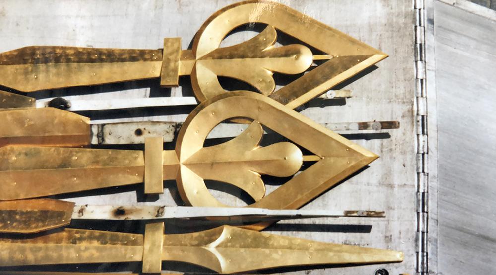 demontierte Zeiger St. Peter Zürich